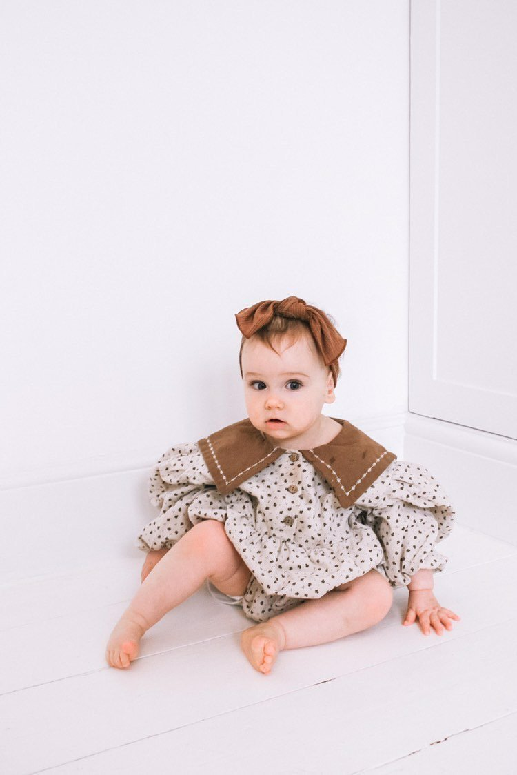 Lala Dolce Collar Romper (2 colour options) - ooyoo