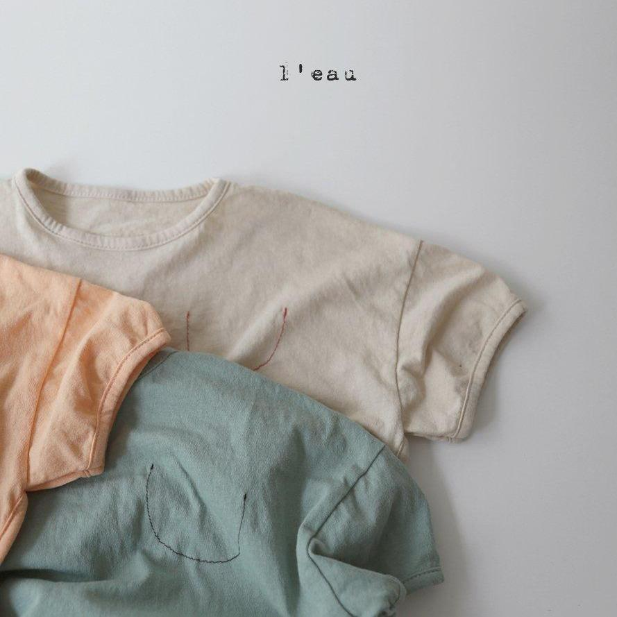L'eau Stitch Pocket Tee (3 colour options) - ooyoo