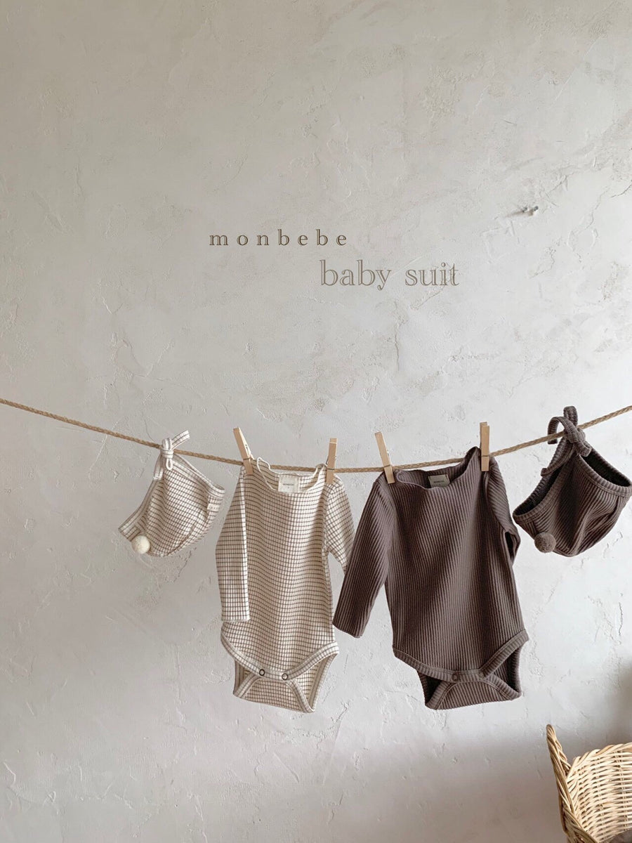 Monbebe Babygrow Set of Two( 5 colour options) - ooyoo