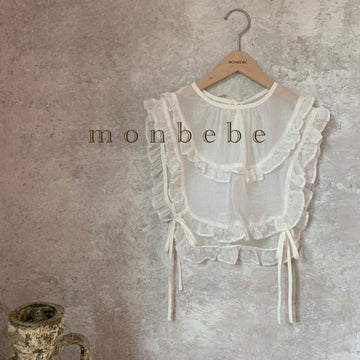 Monbebe Frill Vest (White) - ooyoo