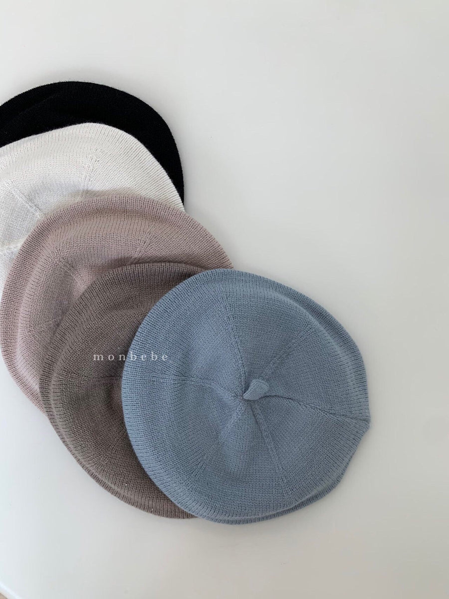 Monbebe Knit Beret (5 colour options) - ooyoo