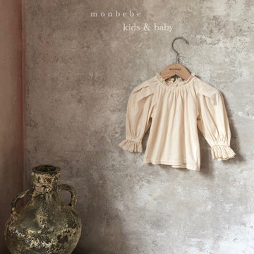 Monbebe Lace Frill Blouse - ooyoo