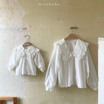 Monbebe Romantic Blouse (2 colour options) - ooyoo