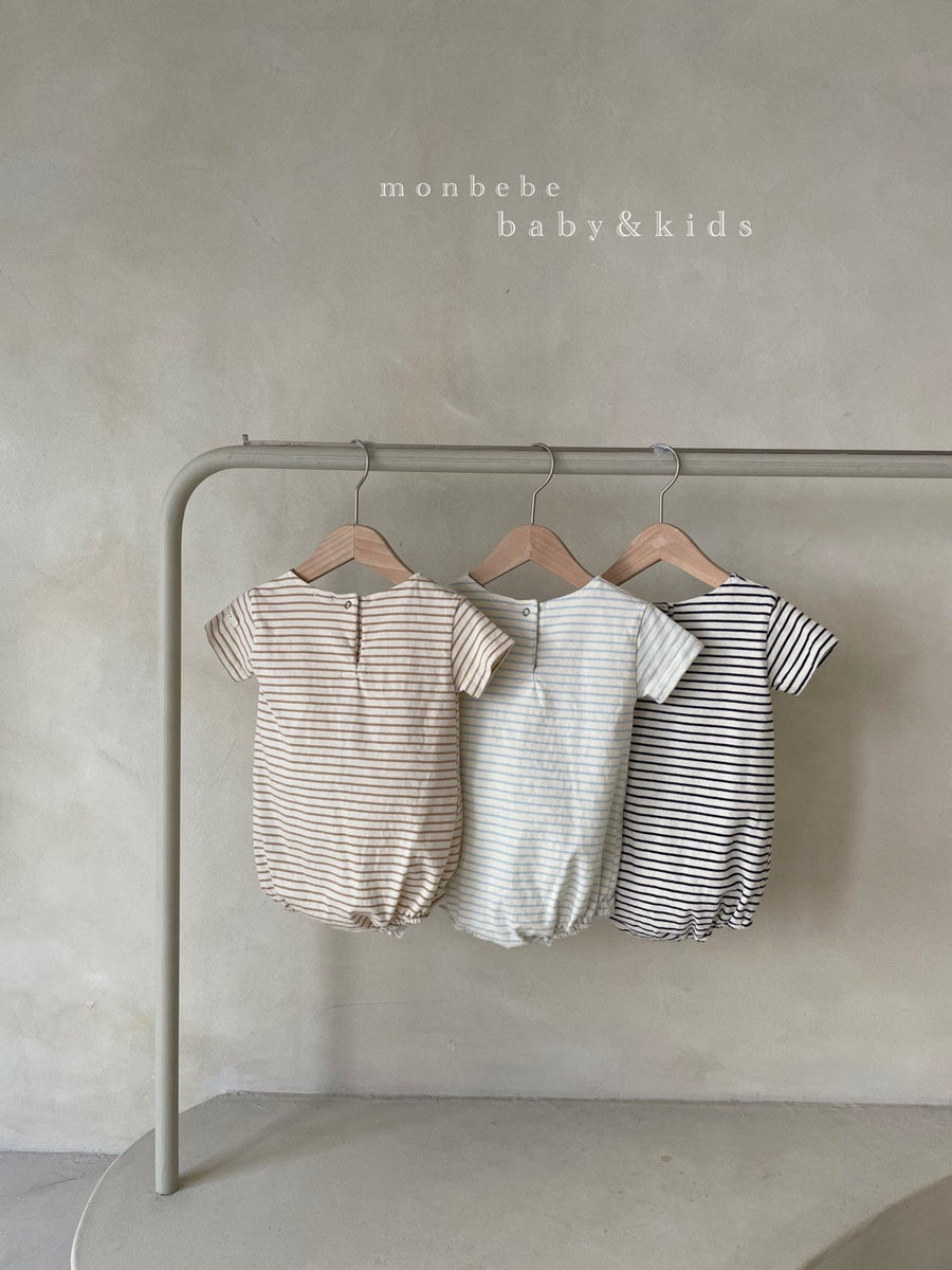 Monbebe Short Sleeve Saint Romper (3 colour options) - ooyoo