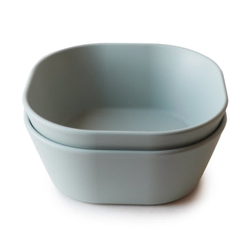 Mushie Square Bowl Set (Sage) - ooyoo