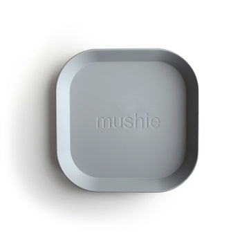Mushie Square Plate (Cloud) - ooyoo