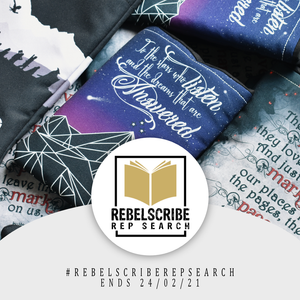 Rebelscribe is looking for Bookstagram reps!