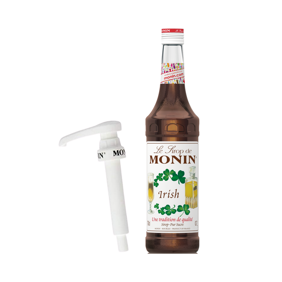 Monin Irish Syrup with Pump<br> 700ml