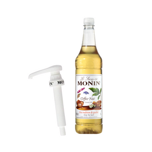Monin Toffee Nut Syrup with Pump<br>1L