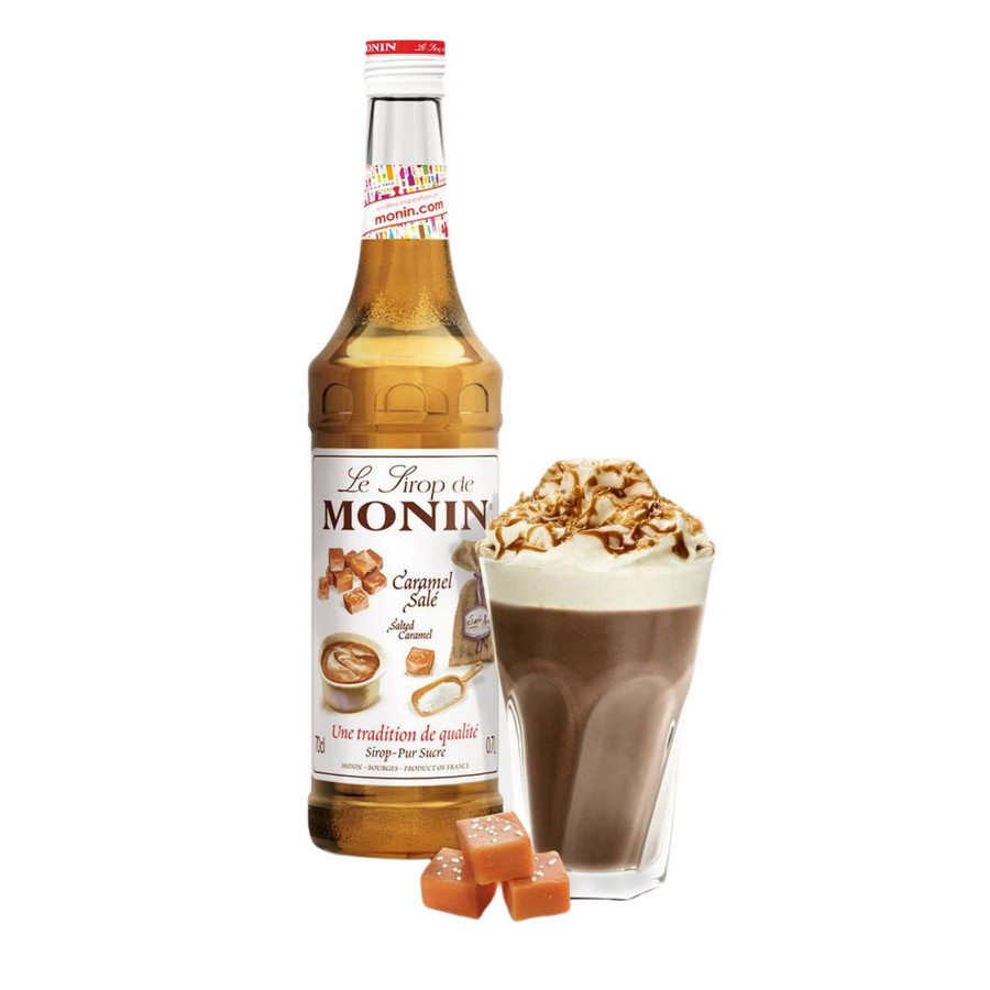 Monin Salted Caramel Syrup with Pump <br>700ml