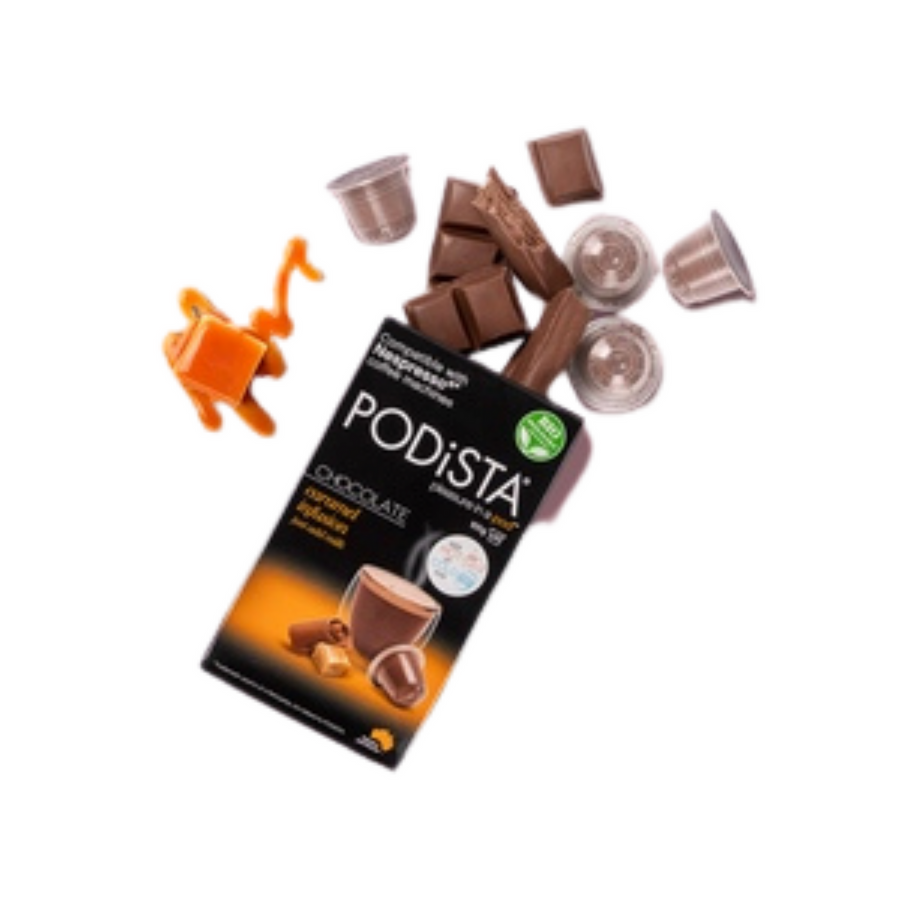 PODiSTA Caramel Chocolate  <br> Box of 10