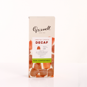 Granell Espresso Decaf  <br>Box of 10