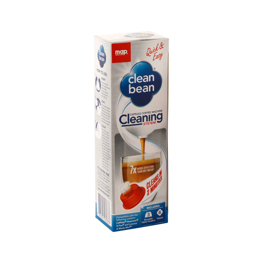 Clean Bean Capsule Espresso Machine Cleaning Kit