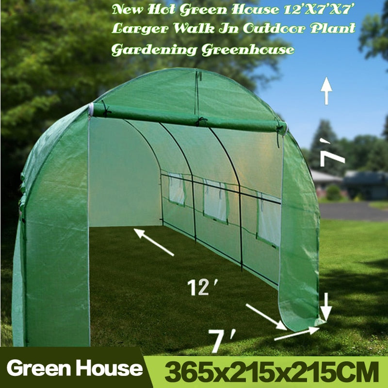 Outdoor Greenhouse Tent 365x215x215CM