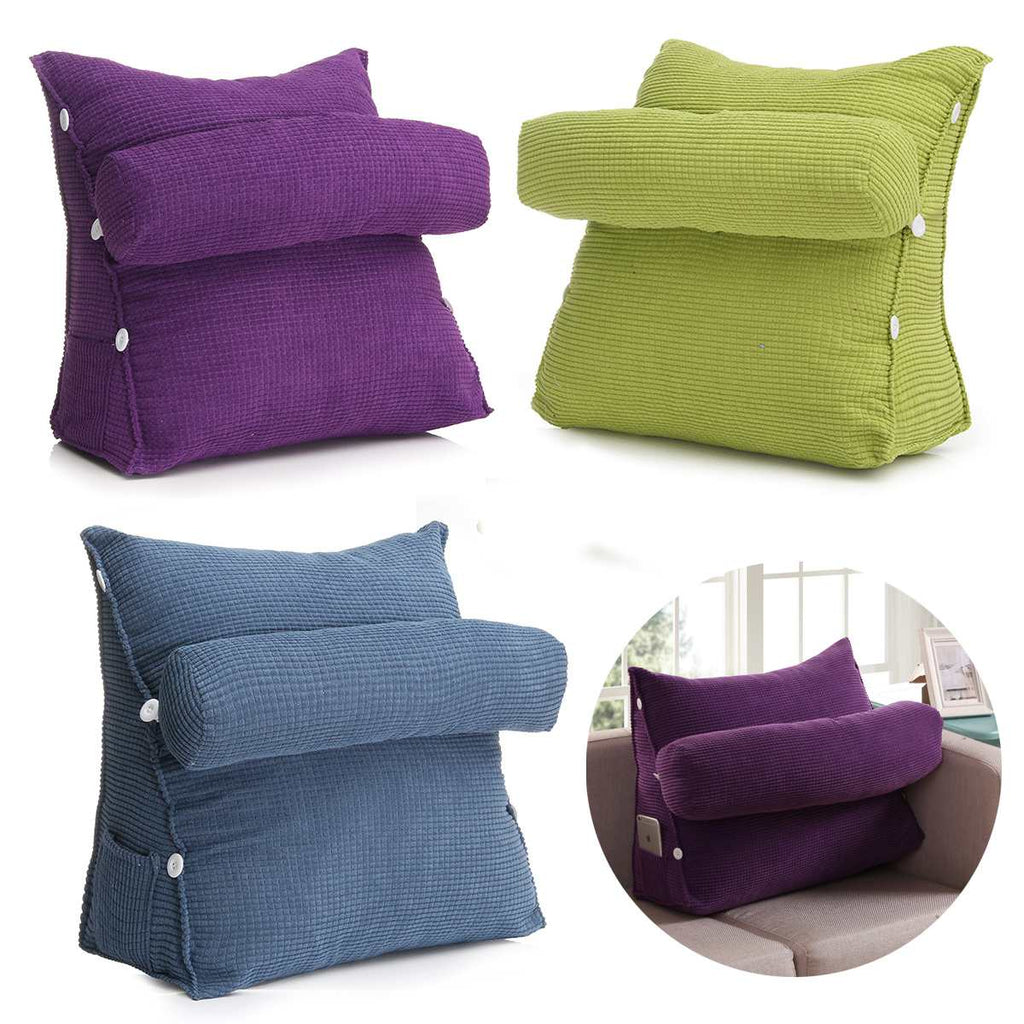 Lumbar Triangle Lounge Back Pillow