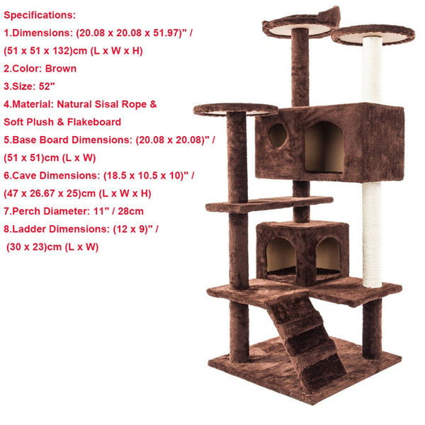 Pet Luxury Cat Tower