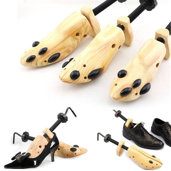 Wooden Shoe Stretcher (Unisex S/M/L) 1 PC