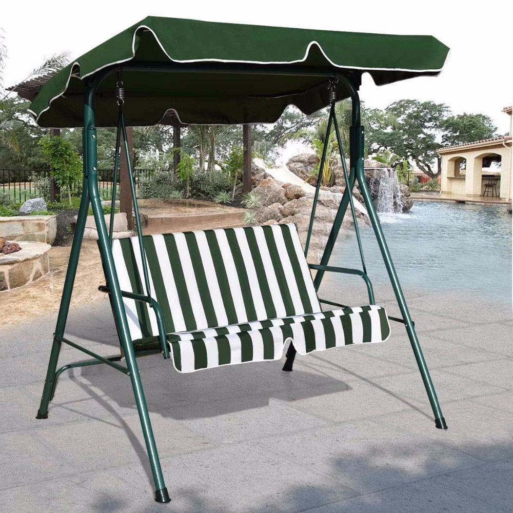 Outdoor Swing Hammock with Steel Frame