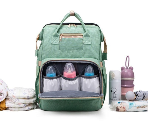 2in1 Baby Diaper and Portable Crib Bag