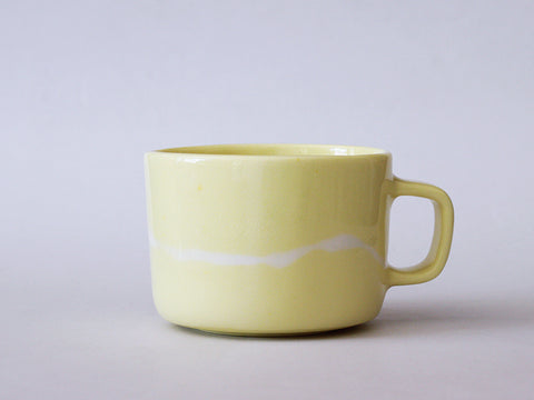Mug 300 ml Iris yellow