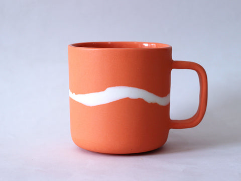 Mug 400 ml Tangerine orange