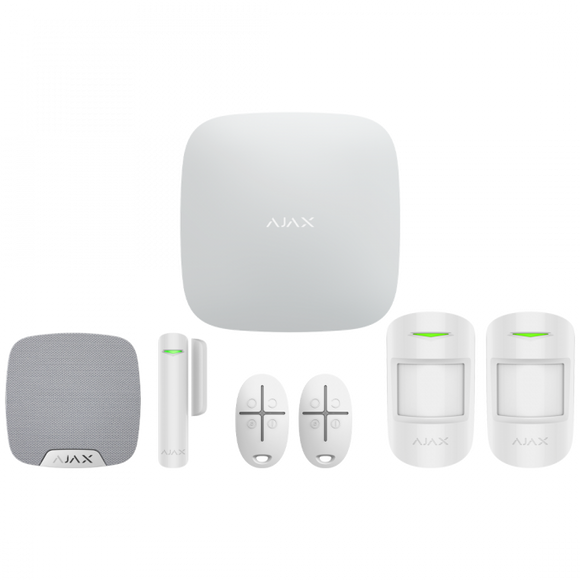 Ajax Wireless Alarm Starter Kit 2 (Apartment)