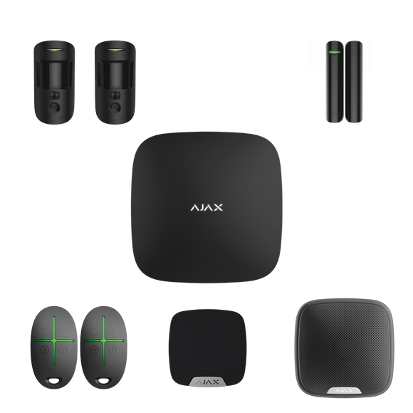 Ajax Wireless Starter Kit 1 Cam Plus (House)
