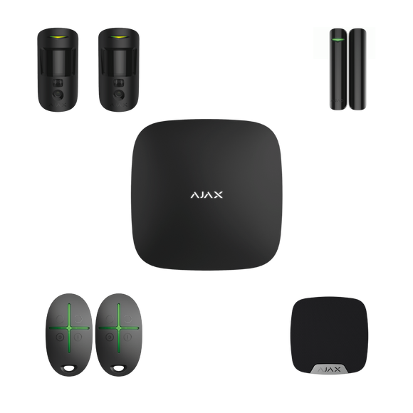 Ajax Wireless Starter Kit 2 Cam Plus (Apartment)