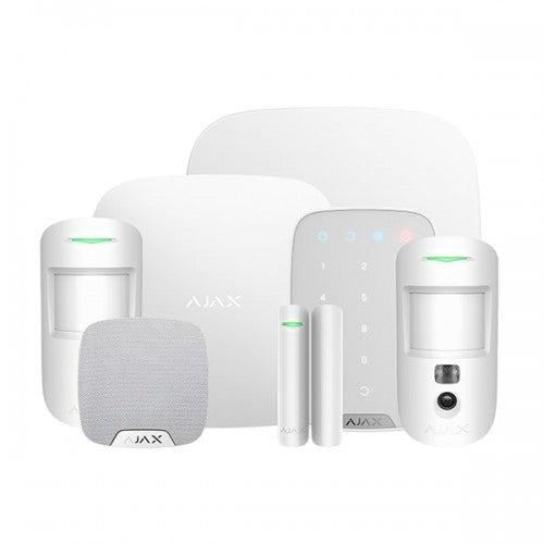 Ajax Wireless Alarm Kit 3 Cam DD (House)