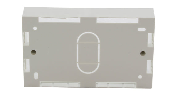 Networking Double Gang Backbox (86 x 146 x 32mm)
