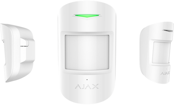Ajax CombiProtect (Wireless Pet Immune PIR Sensor with Acoustic Glass Break Detector)