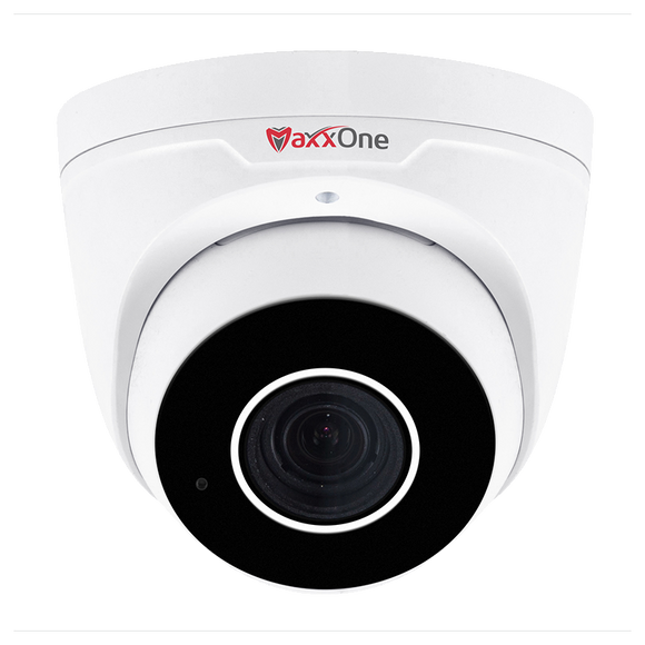 MaxxOne Elite Pro 2MP Motorised Dome Camera - White