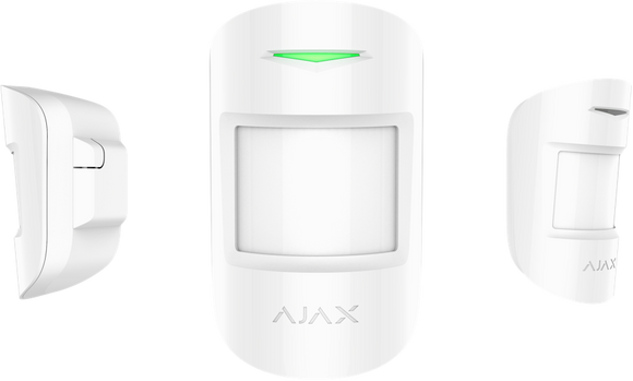 Ajax MotionProtect Plus (Wireless Pet Immune Dual Tech Microwave PIR Sensor)