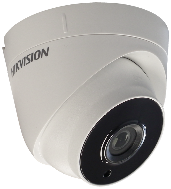 Hikvision 5MP PoC Turbo HD 40m EXIR 3.6mm Fixed Lens Turret Camera