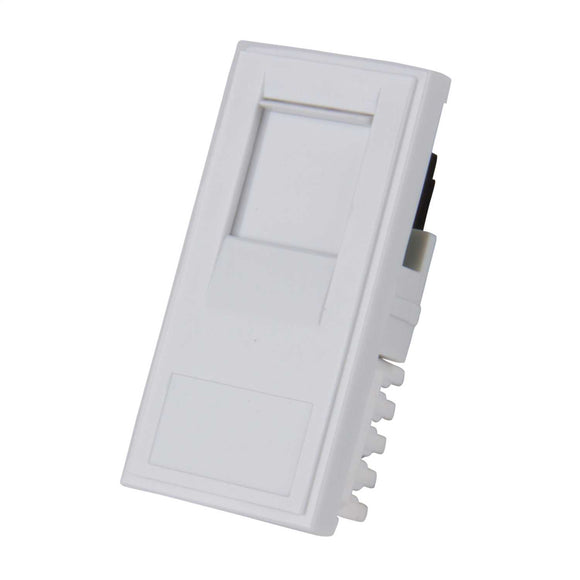RJ45 CAT6 Outlet Module (White)
