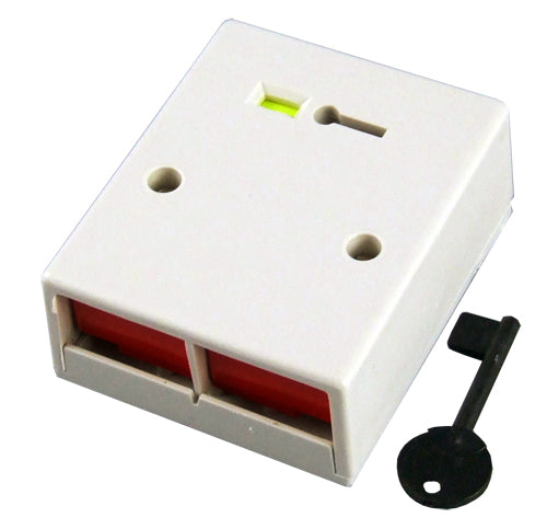 CQR Double Push Panic Button (White)