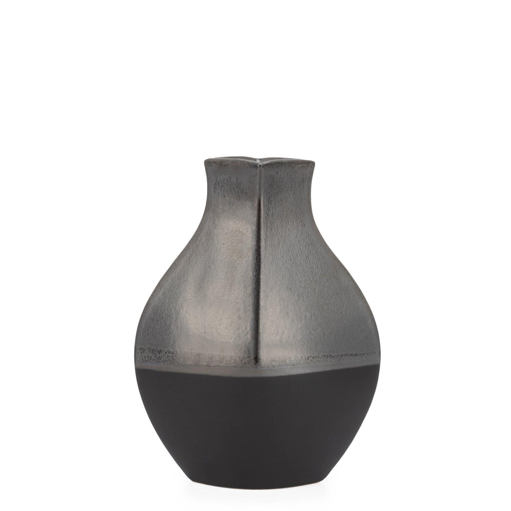 Tango 2 Tone Reactive Glazed Bulb Vase - Avelyn Florist in {{ shop.address.city }}, {{ shop.address.country }}