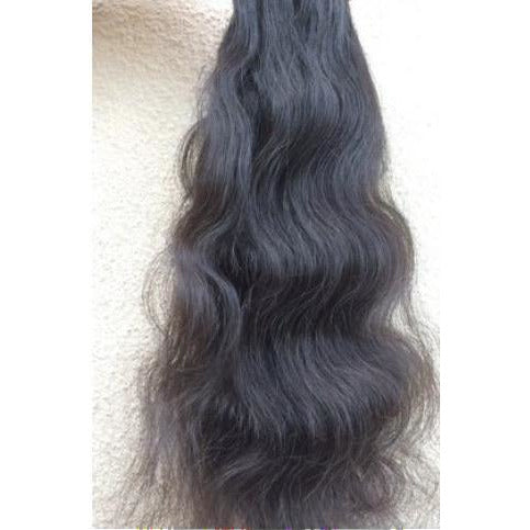 Raw indian hair natural wave
