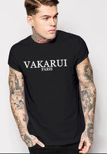 "Load image into Gallery viewer, ""Classic VAKARUI"" Fitted T-shirt"