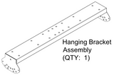 HS044 - Low Clearance Mounting Kit for HAB40/50 The Habanero, Ceiling Mount