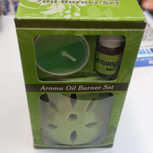 Load image into Gallery viewer, Aroma Oil Burner Set