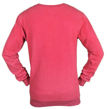Load image into Gallery viewer, Kayi Classic Sweatshirt V-Neck Wuffle Light Red
