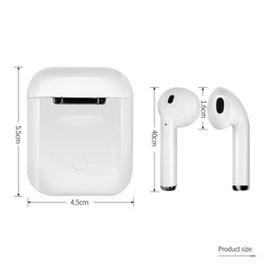 Airpod i12 - TWS Extra Bass - Long life battery