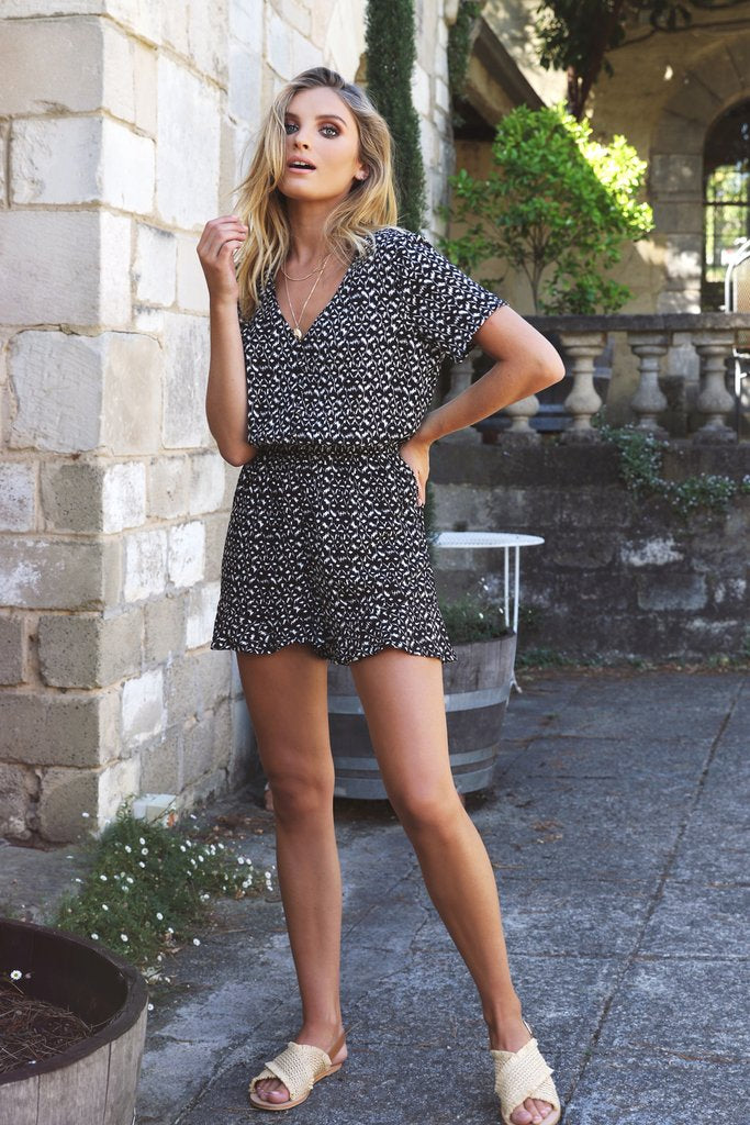 raven playsuit