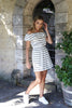 hamilton stripe dress