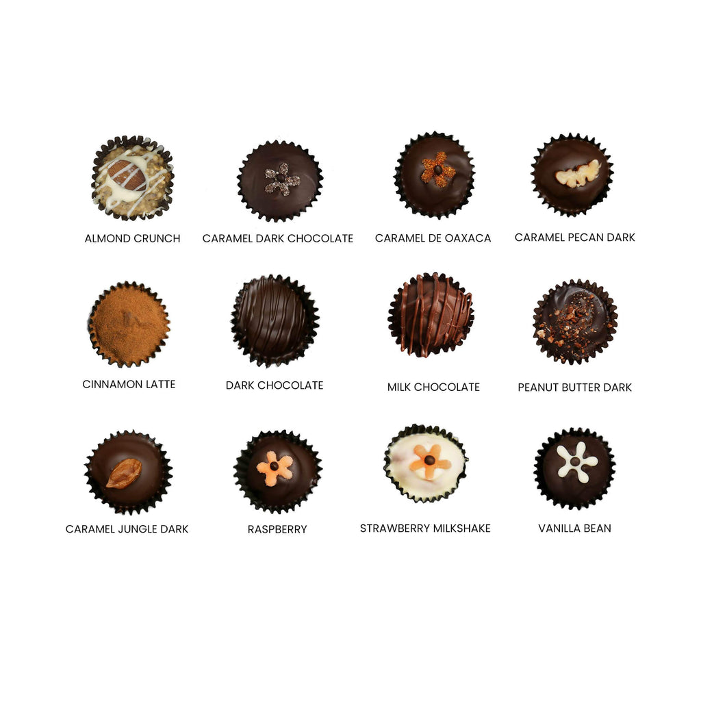 Mother's Day Collection - 12 PCS Truffle Box