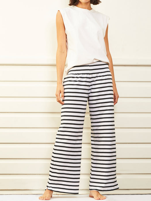 Le Lounge Pants - black matelot
