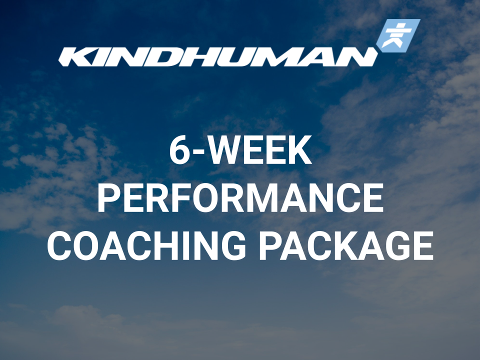 6-WEEK PERFORMANCE COACHING PACKAGE