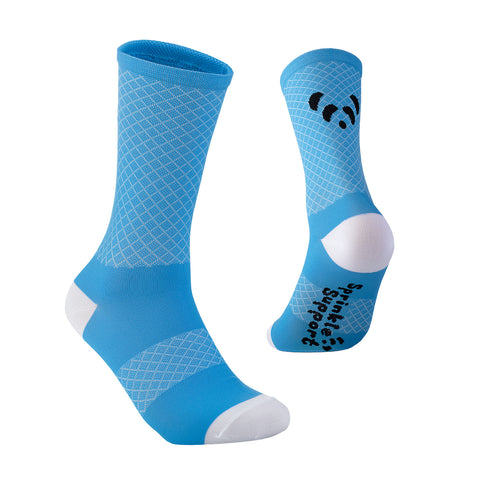 Sprinkle Support Socks - Kind Blue