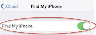 Find my iPhone app online
